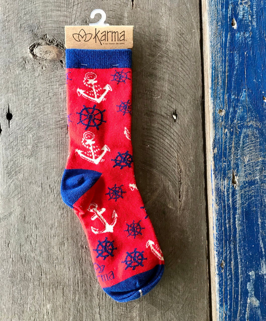 Karma Socks- Anchor