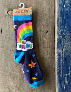 Karma Socks- Rainbow