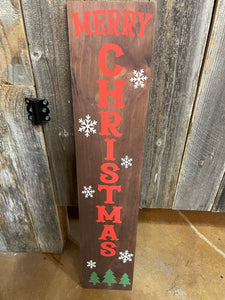 Double Sided Merry Christmas/ Hello Fall Sign