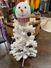 Load image into Gallery viewer, White Snowman Tree
