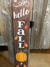 Load image into Gallery viewer, Double Sided Merry Christmas/ Hello Fall Sign