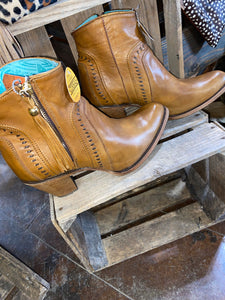 Corral Cognac Booties