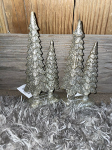 Mini Glittery Christmas Trees