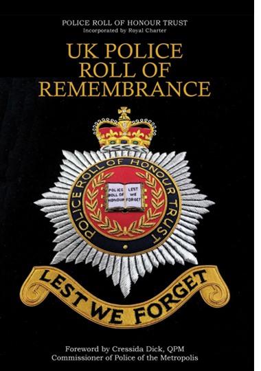 UK POLICE ROLL OF REMEMBRANCE