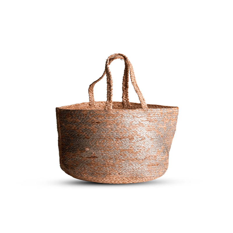 ByLiving - Denise Jute Bag Ø48 x H59 cm