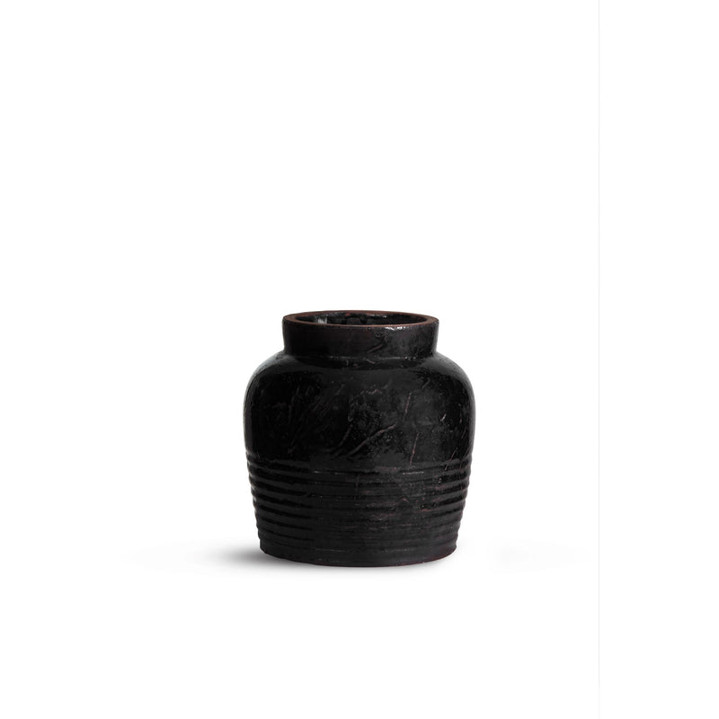 ByLiving - Black Jar Medium Ø25,5 x H26 cm