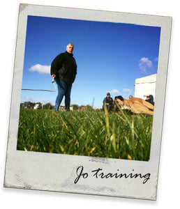 Jo Hill - Obedience Training.  16th & 17th January 2021
