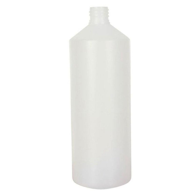 1 Litre Natural HDPE Bottle 28/410 - Lucemill