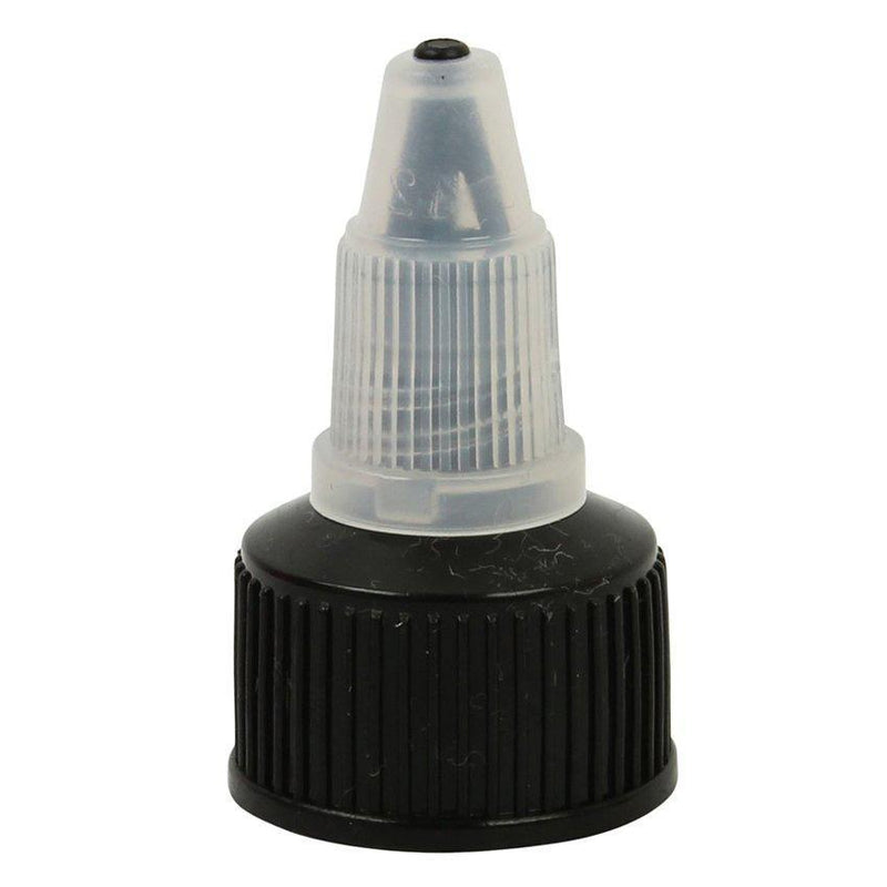 20/410 Black / Transparent Twist Top Nozzle - Lucemill