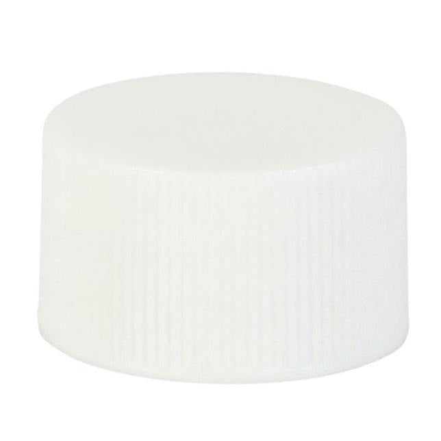 28/410 White Ribbed Screw Cap - Lucemill