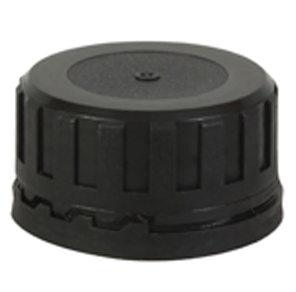 38mm Black Tamper Evident Cap