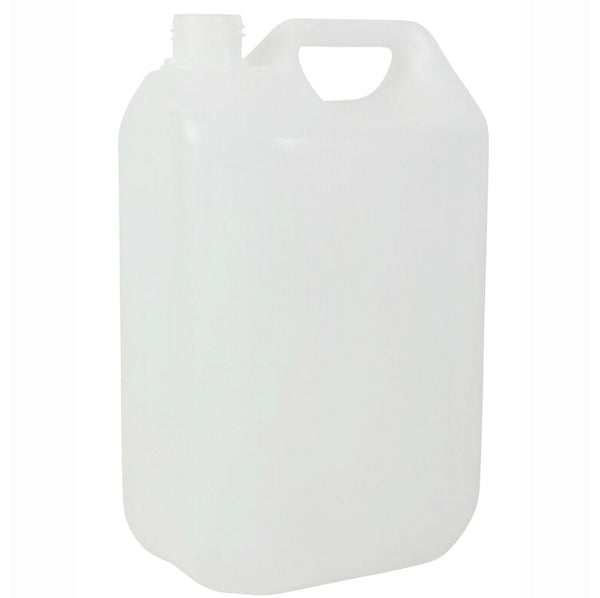 5 Litre Natural HDPE Plastic Jerry Can