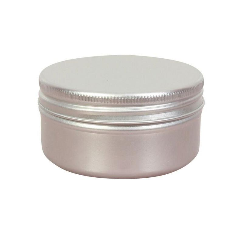 50ml Aluminium Jar & EPE Lined Screw Lid - Lucemill
