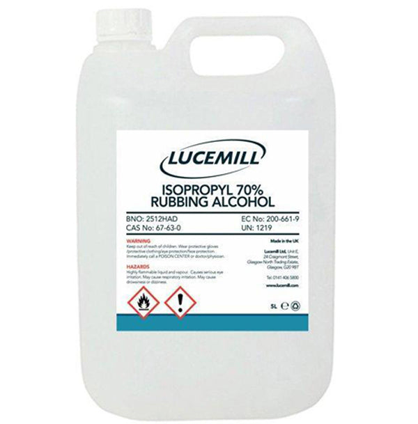 Isopropyl Rubbing Alcohol 70% - Lucemill