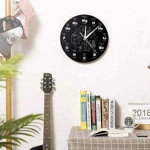 Chemical Elements Periodic Wall Clock