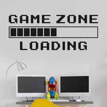 Load image into Gallery viewer, Game Room Game Zone Loading Wall Decal