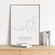 Load image into Gallery viewer, Oxytocin Wall Canvas Print
