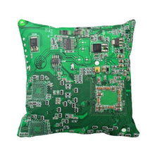 Load image into Gallery viewer, Computer Geek Circuit Board  Throw Pillow Case