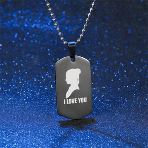 I love you I know geeky romantic gift