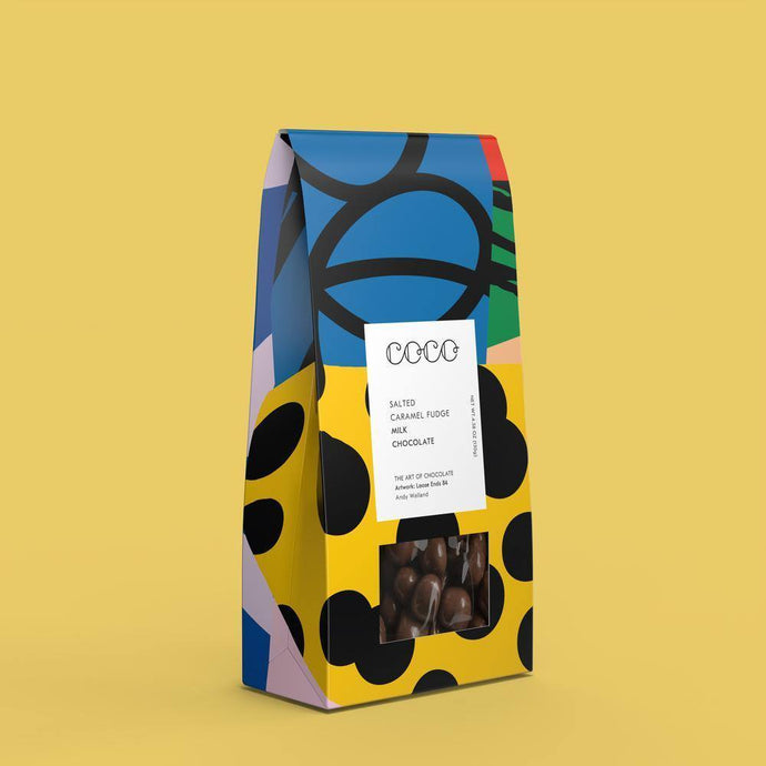 Coco Chocolatier | Salted Caramel Fudge