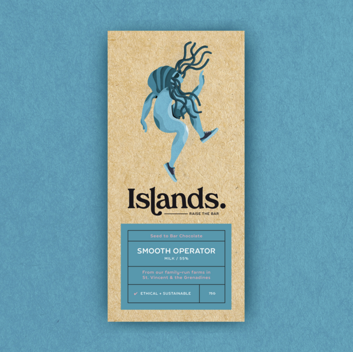 Islands Chocolate | Smooth Operator – 55% Dark Milk 70g
