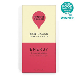 Benefit | Energy 85% Cacao Bar