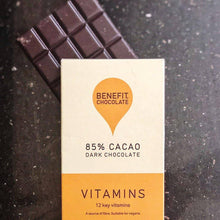 Load image into Gallery viewer, Benefit | Vitamin, 85% Cacao Bar (Vegan) 80g