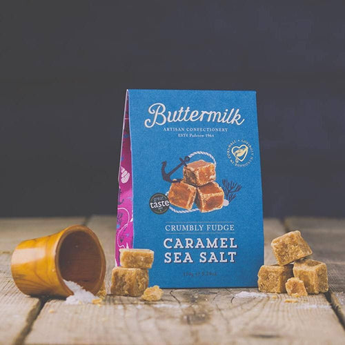 Buttermilk | Caramel & Seasalt Fudge Sharing Box 150g