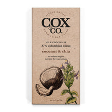 Load image into Gallery viewer, Cox & Co | Coconut & Chia 37% Cacao