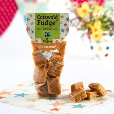 Cotswold Fudge Co | Vegan Butterscotch Fudge - Treat Me Good