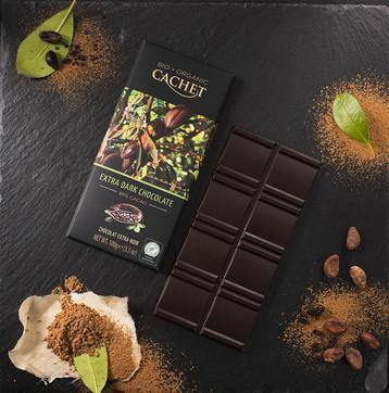 Cachet | Organic 85% Dark Chocolate Bar 100G