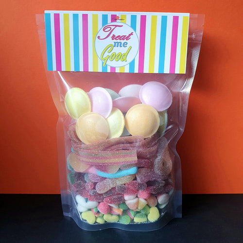 Treat Me Good | Fizzy Mix Sweet Pouch 500G