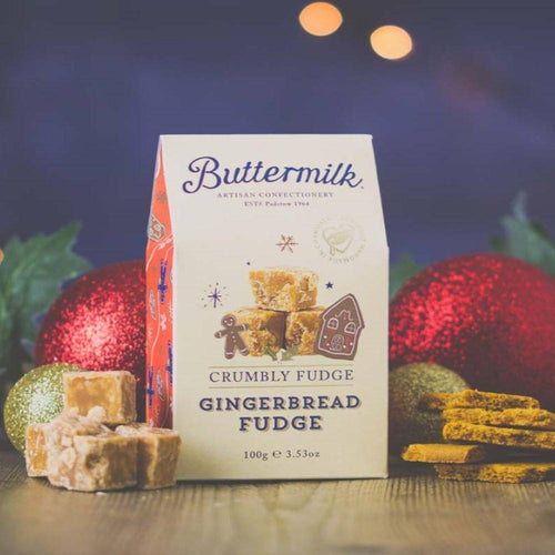 Buttermilk | Crumbly Gingerbread Fudge Stocking Filler 100g