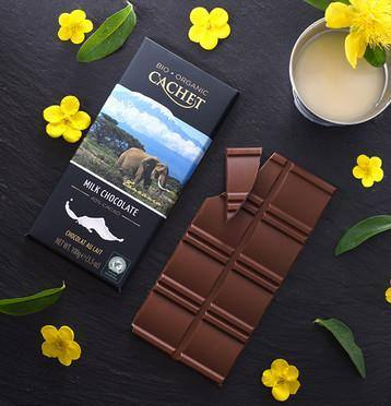 Cachet | Organic 40% Milk Chocolate Bar 100G