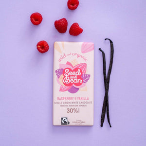 Seed & Bean | Raspberry & Vanilla White Chocolate