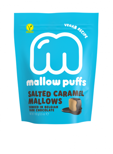 Mallow Puff | Salted Caramel Mallows Coated in Chocolate - Treat Me Good