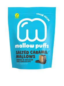 Mallow Puff | Salted Caramel Mallows Coated in Chocolate