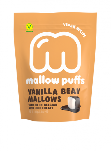 Mallow Puff | Vanilla Bean Mallows Coated in Chocolate - Treat Me Good