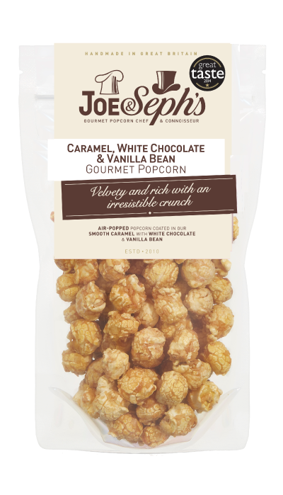 Joe & Seph's | White Chocolate & Vanilla Bean Popcorn