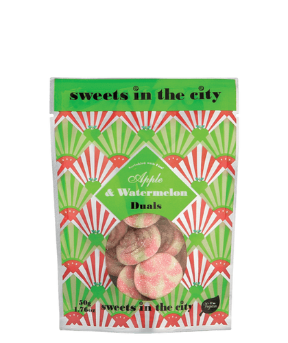 Sweets In The City | Apple & Watermelon Duals (Vegan) 50G