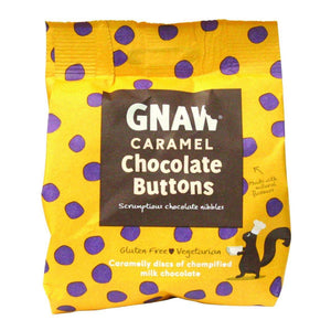 Gnaw | Caramel Chocolate Buttons 150G
