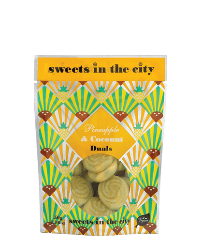 Sweets In The City | Pineapple & Coconut Duals (Vegan) 50G