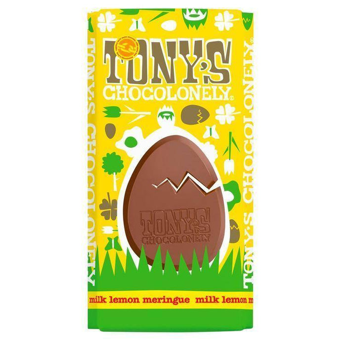 Tony's Chocolonely | Milk Lemon Meringue Easter Egg Bar