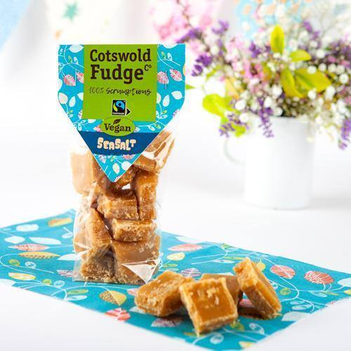 Cotswold Fudge Co | Vegan Seasalt Fudge - Treat Me Good