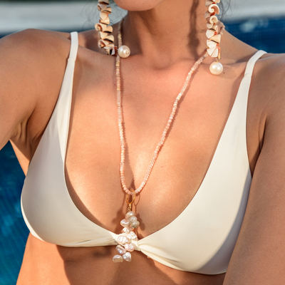 Flamands Necklace - St Barts Collection - Madeleine Lou Jewelry