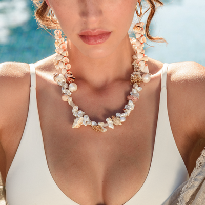 Gouveneur Necklace - St Barts Collection - Madeleine Lou Jewelry