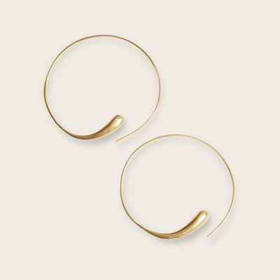 Madeleine Lou Earrings Dash Hoop Earrings