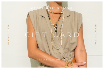Madeleine Lou Jewelry Design Gift Card $50.00 Madeleine Lou Jewelry e-Card