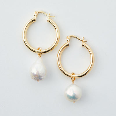 Madeleine Lou Jewelry Design Earring Grace Hoop Earrings