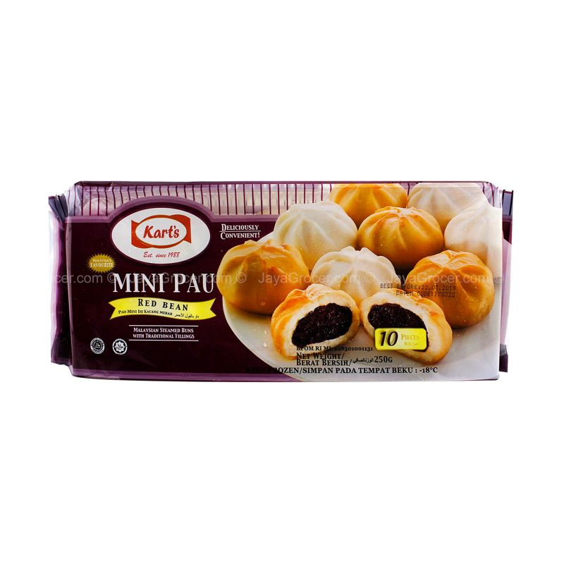 Kart's Mini Red Bean Pau 250g